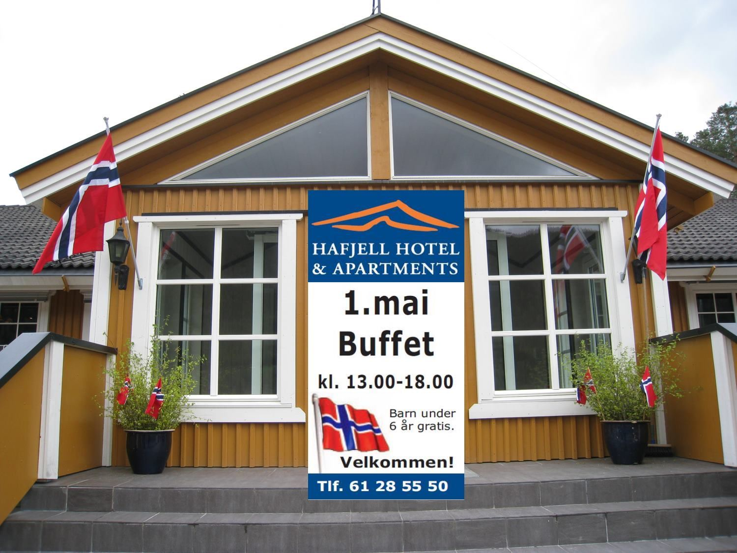 1 May bufet at Hafjell Hotel