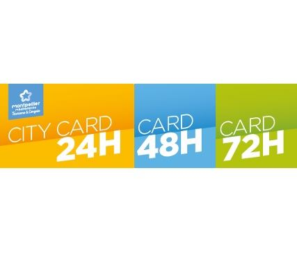 Montpellier City Card 72h