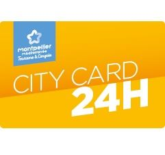 Montpellier City Card 24h