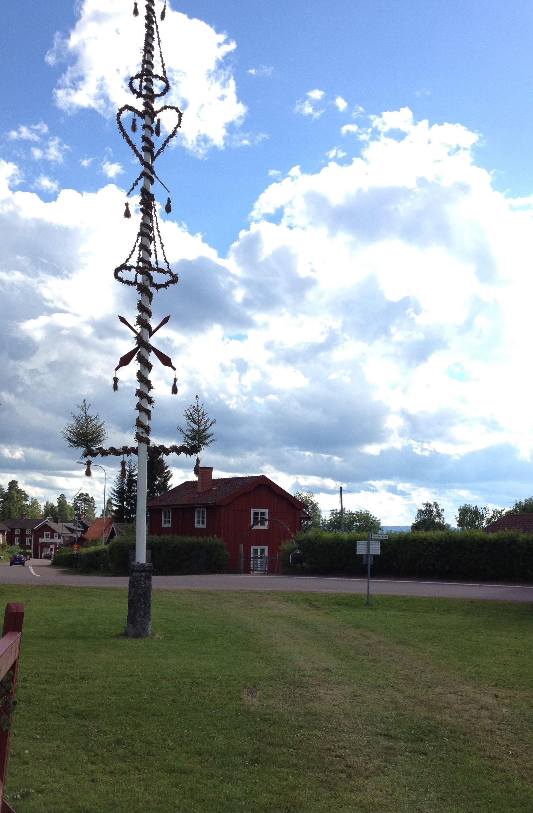Midsummer Eve in Tällberg