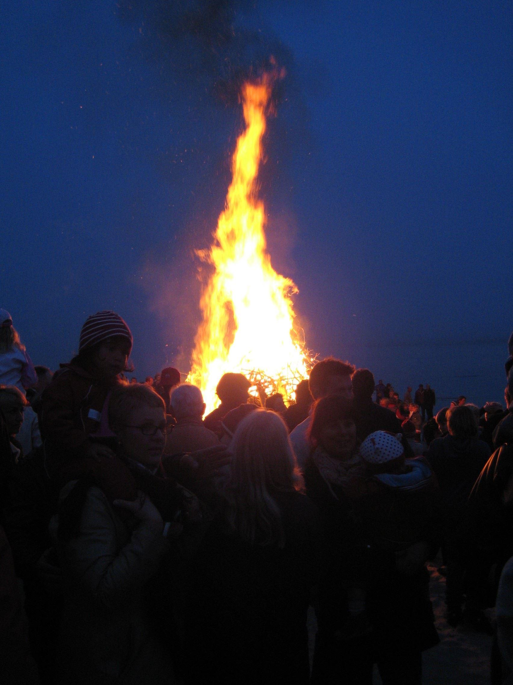 Valborgsmässoafton i Ljusne