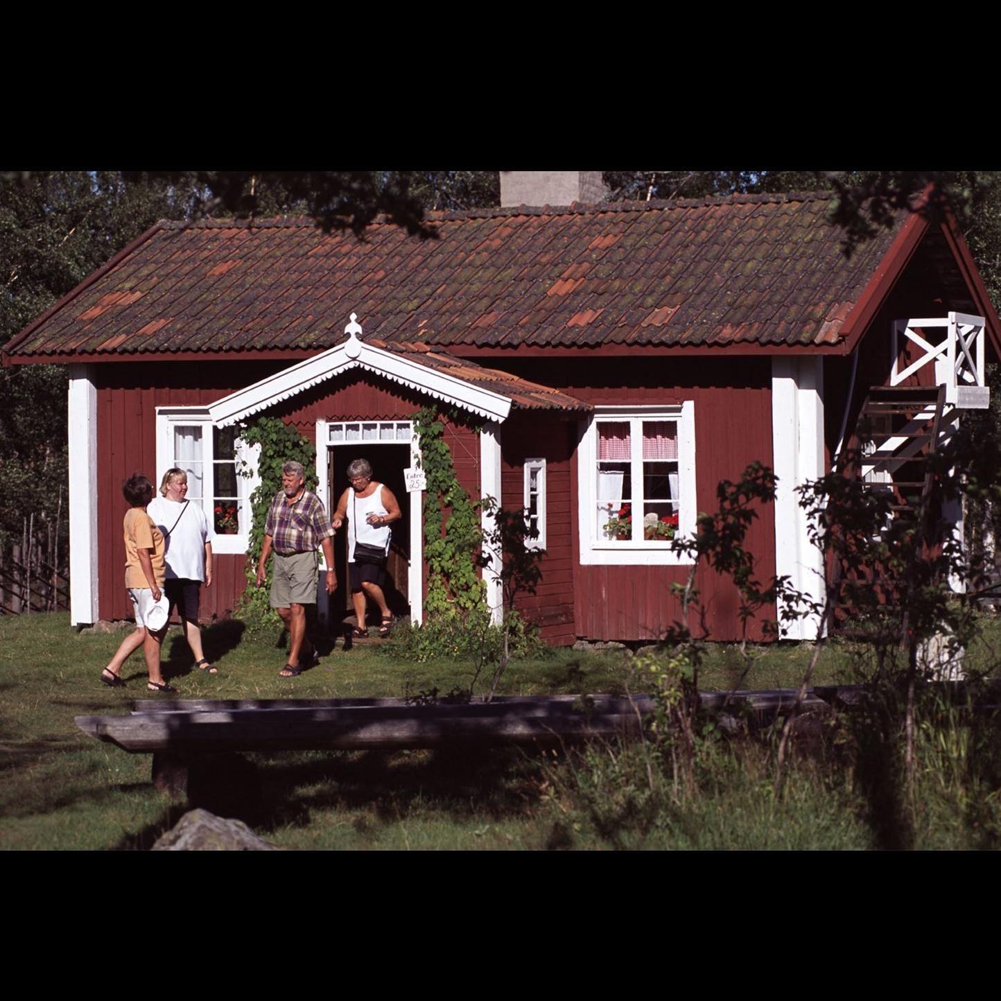 Foto: Ludvika Turistbyrå, Skattlösbergs By och Luossastugan