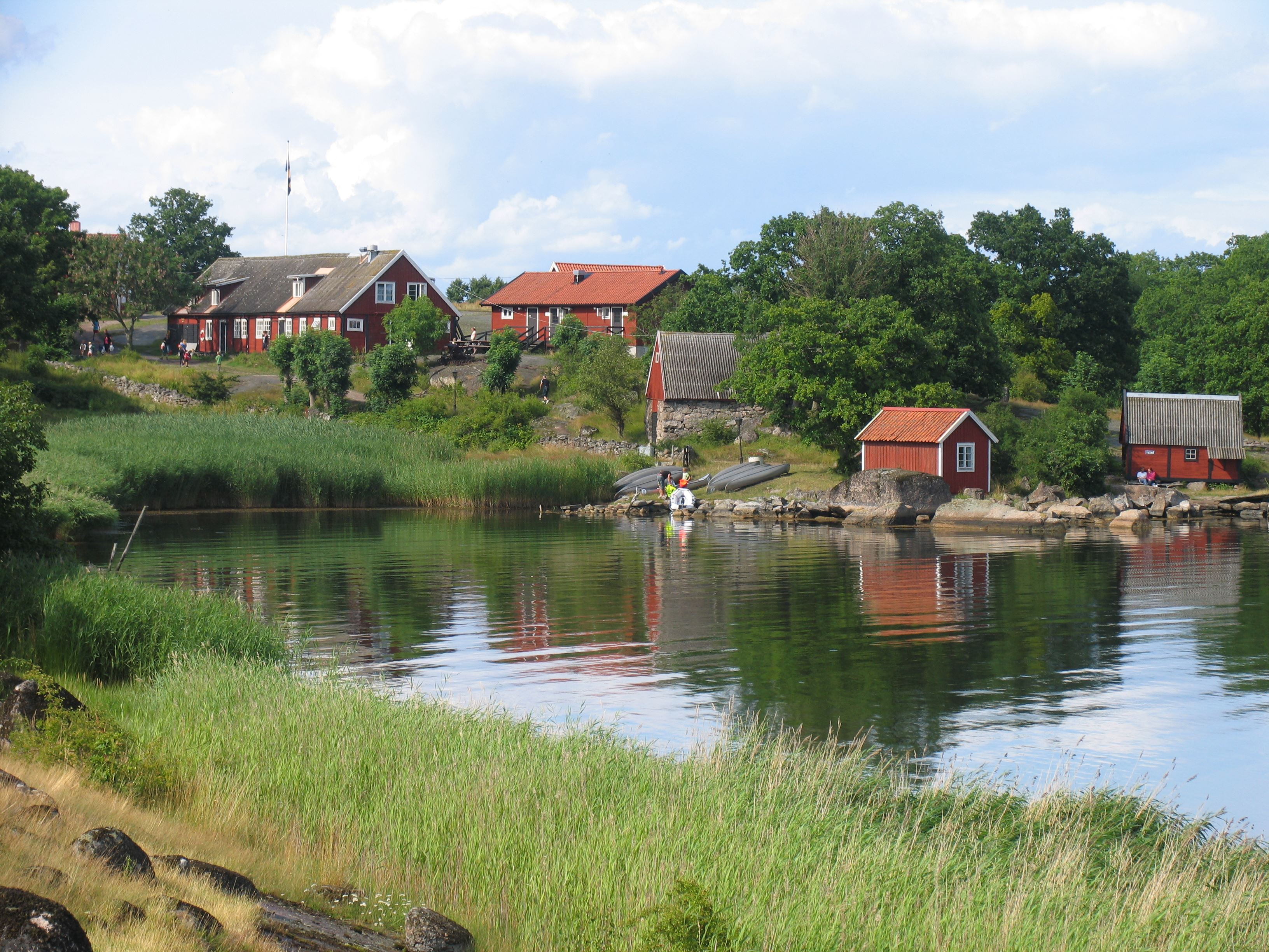 Guest harbour Tjärö