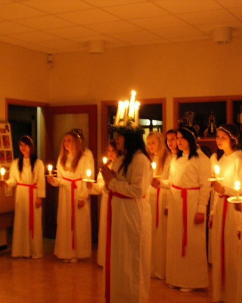Lucia i Bengtsgården, Långshyttan