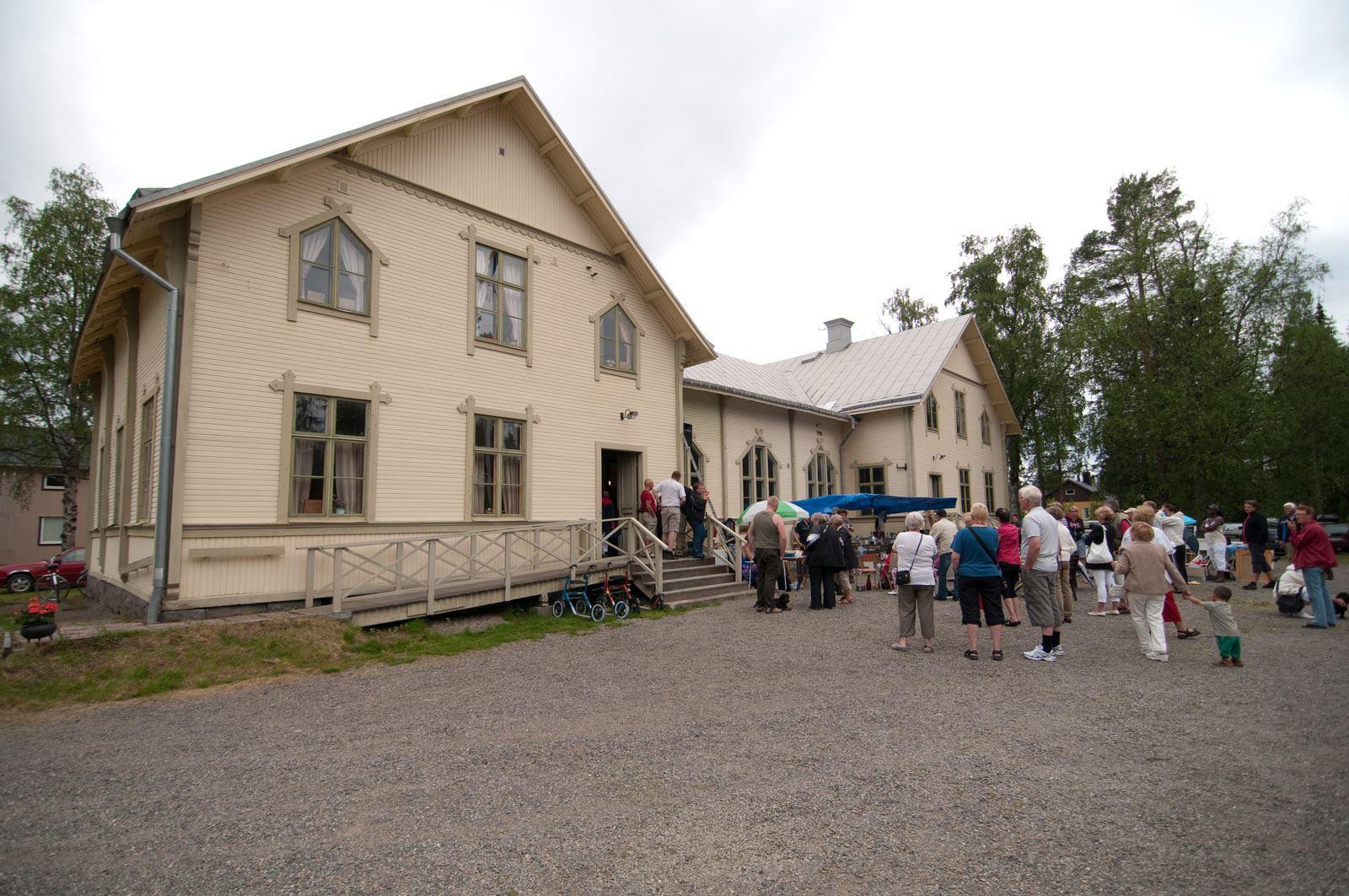 Bastuträsk Kulturbyggnader