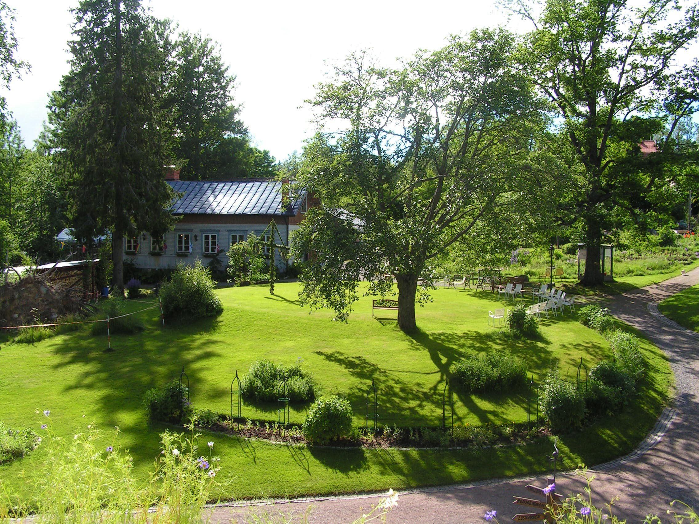 foto Bengt Frejd, Disponentparken och Trädgårdscaféet