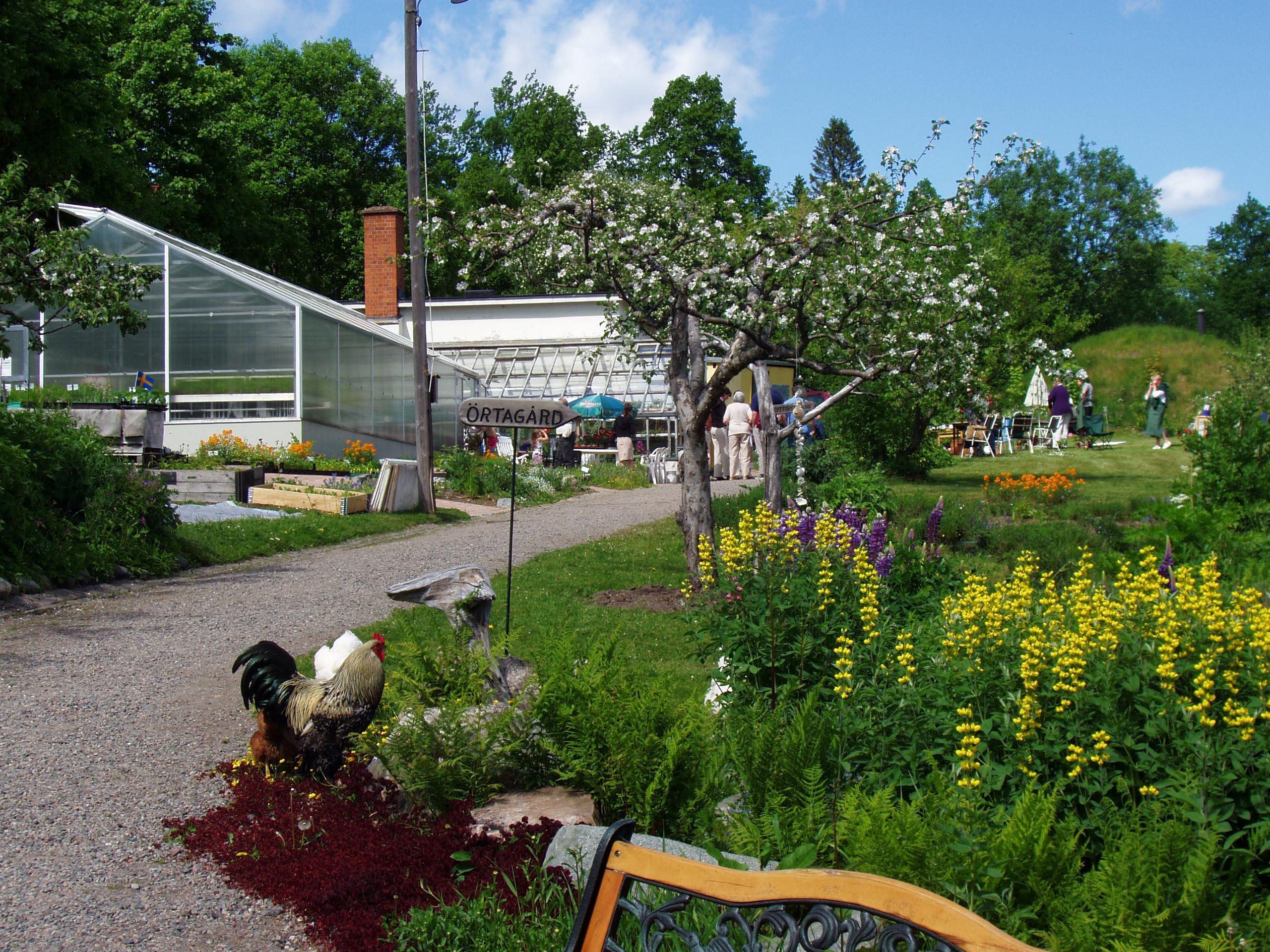 Disponentparken och Trädgårdscaféet