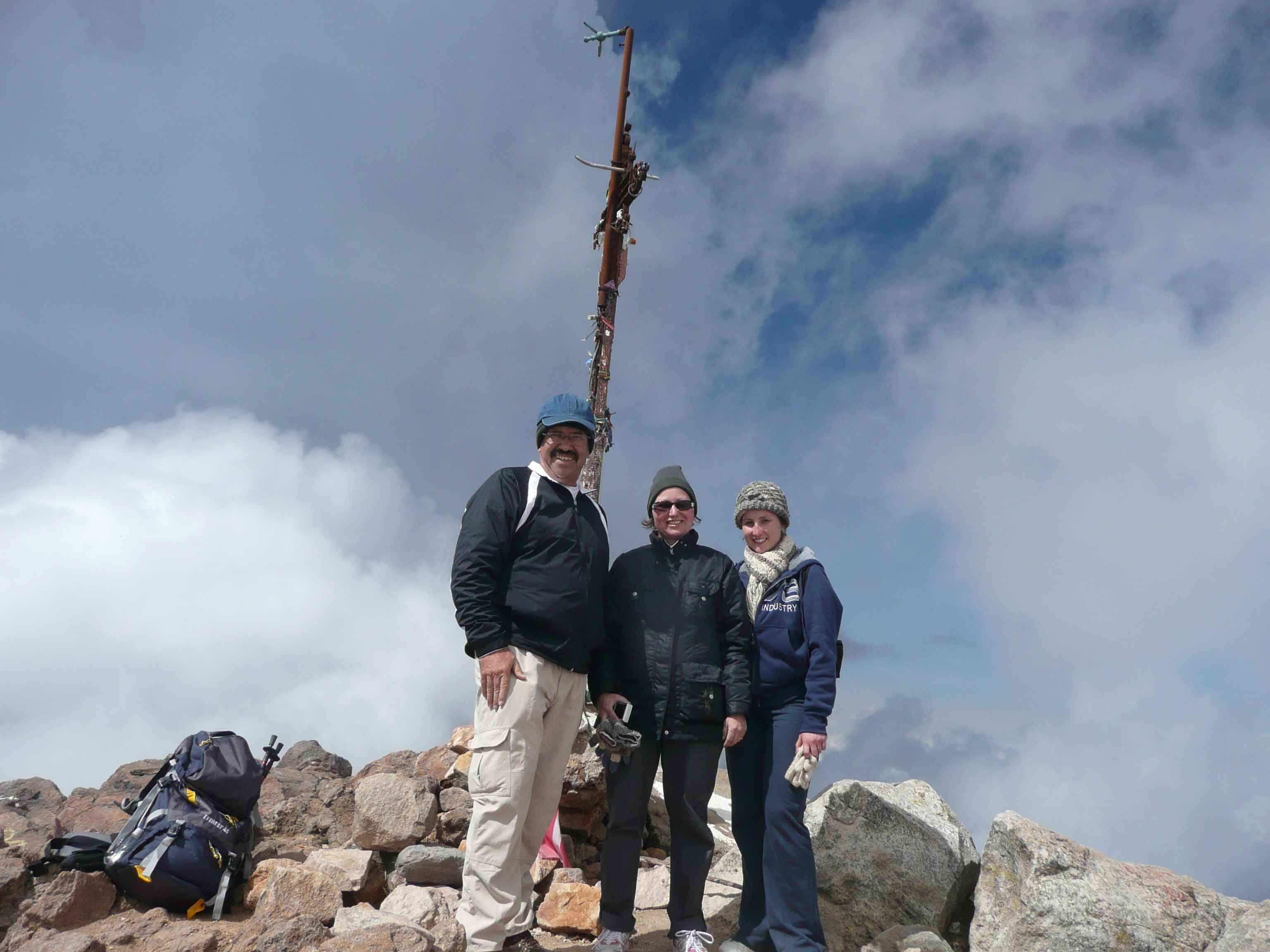 Conquering the Summit of the Nevado de Colima Volcano