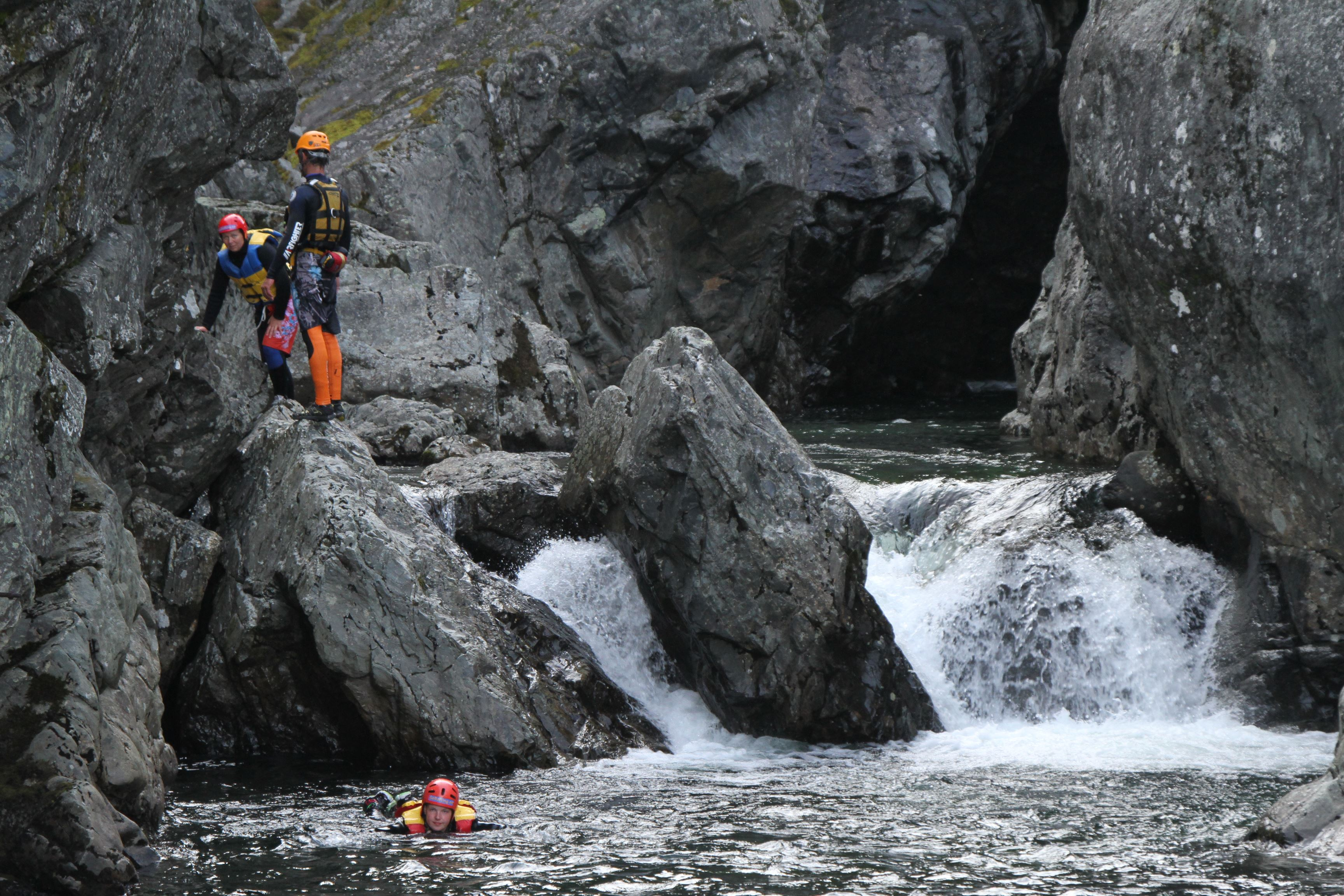 Juving (Canyoning)