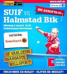 SM-semifinal SUIF-Halmstad