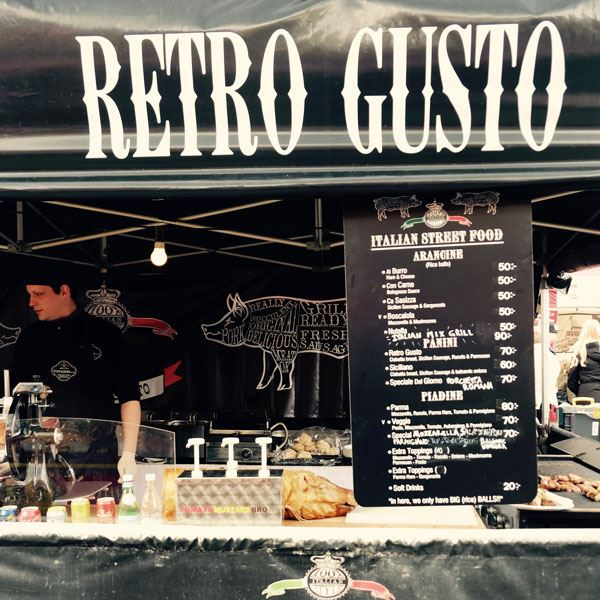 Foto: Italian Villiage,  © Copy: Visit Östersund, Italian Street food