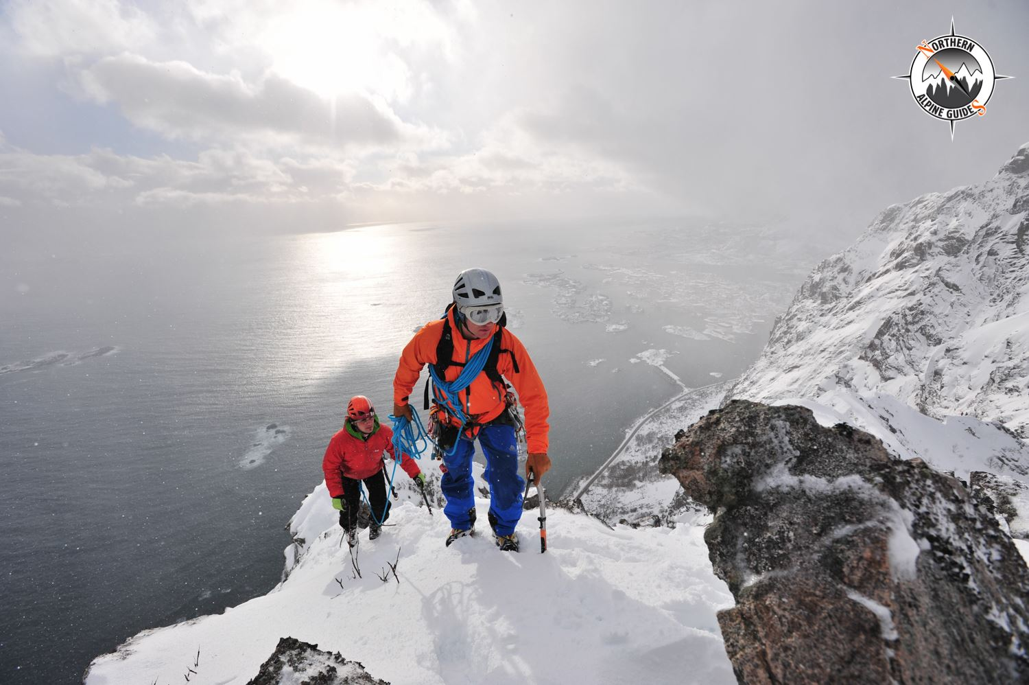 Northern Alpine Guides,  © Northern Alpine Guides, Alpine Ice Climbing with a IFMGA certified Mountain Guide