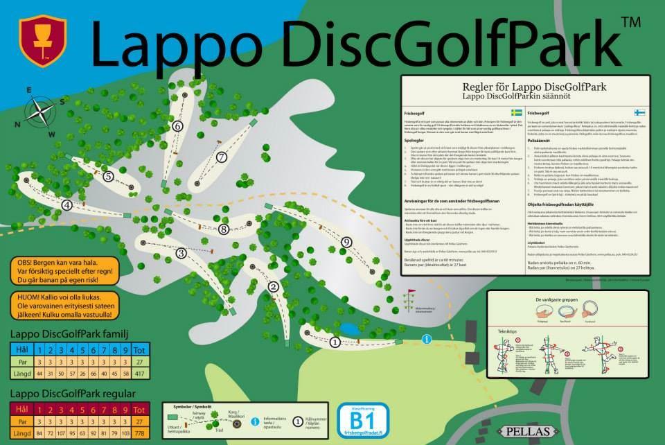 DiscGolfPark på Lappo, Brändö