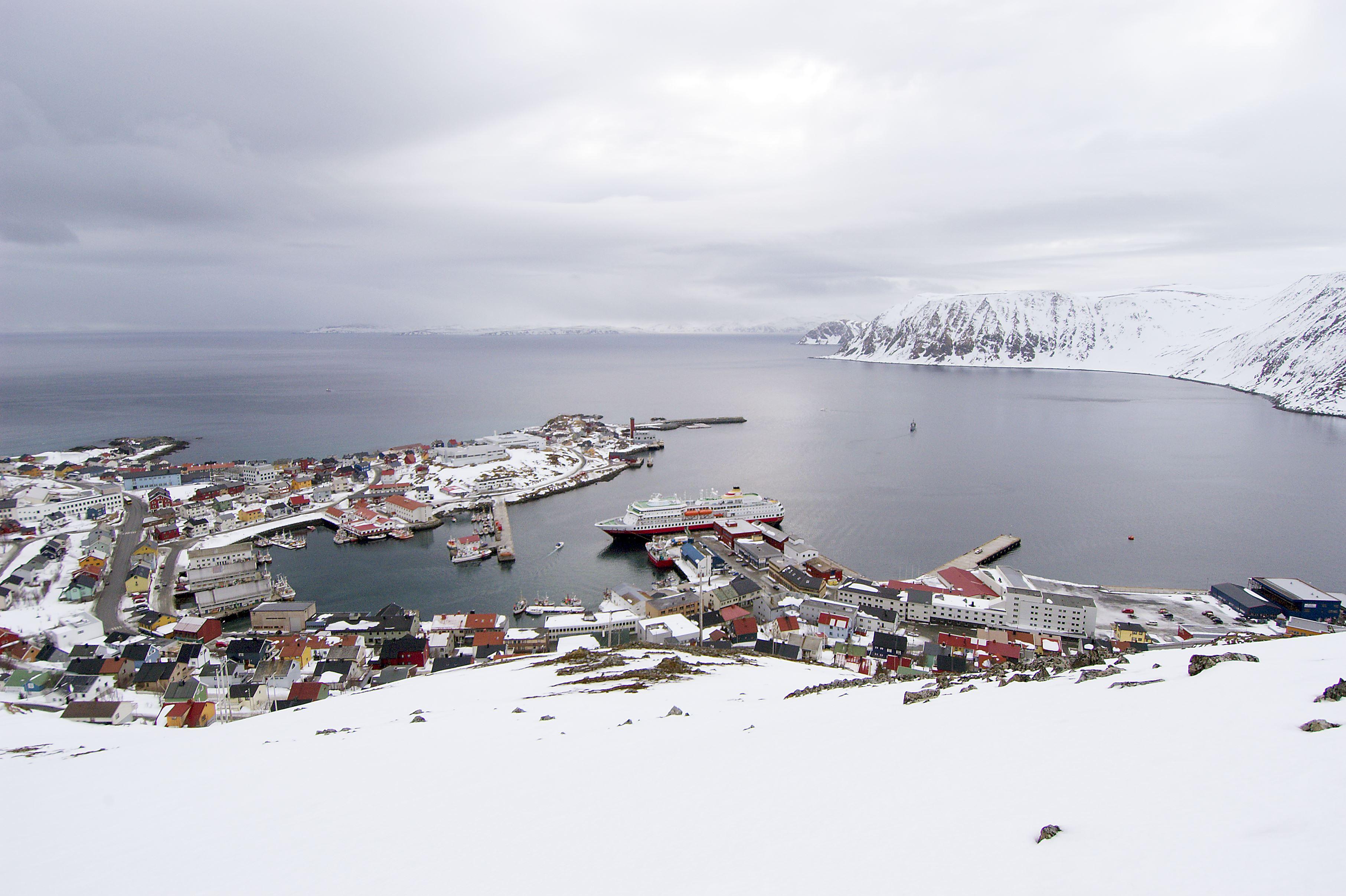 Bjarne Riesto, Touristinformation in Honningsvåg