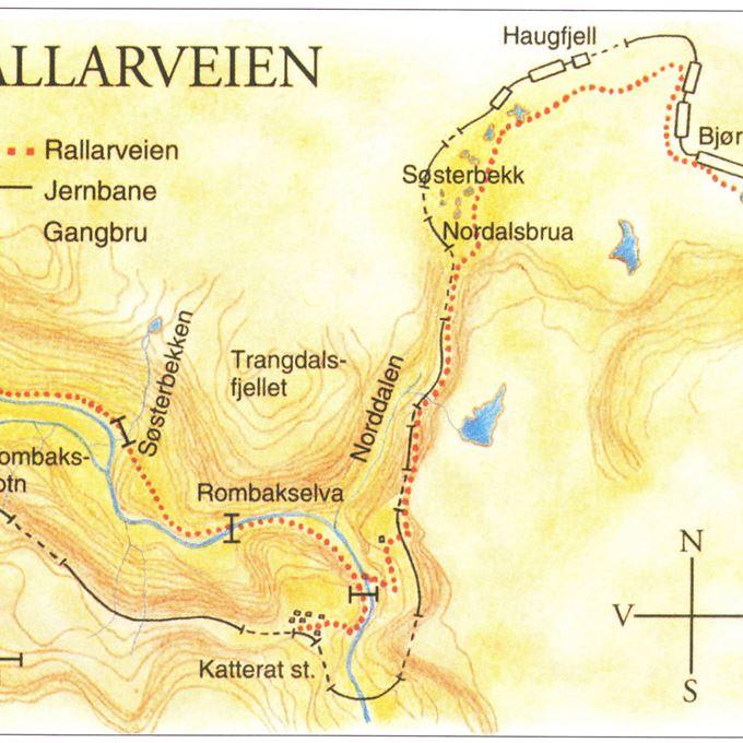 The Ofoten Railway Hike Across Norway The Ofotbanen Railway - Norway map railway