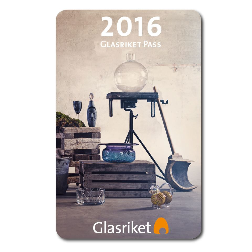 Glasriket Pass, ditt förmånskort i Glasriket