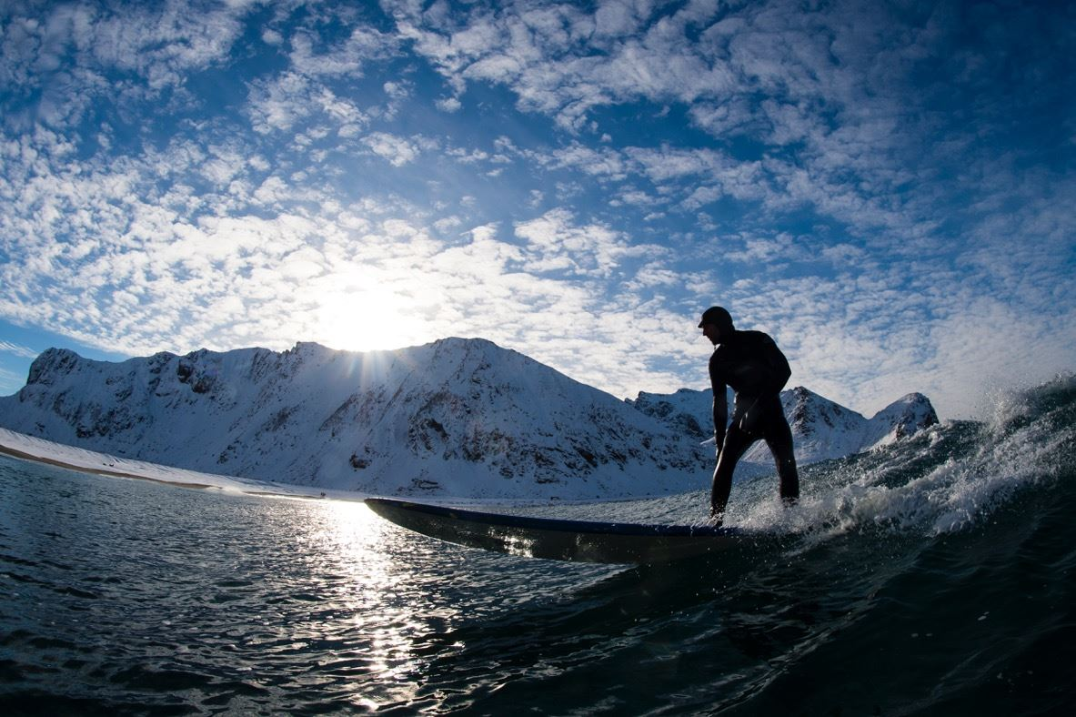 Beginner Surf Lesson - Unstad Arctic Surf