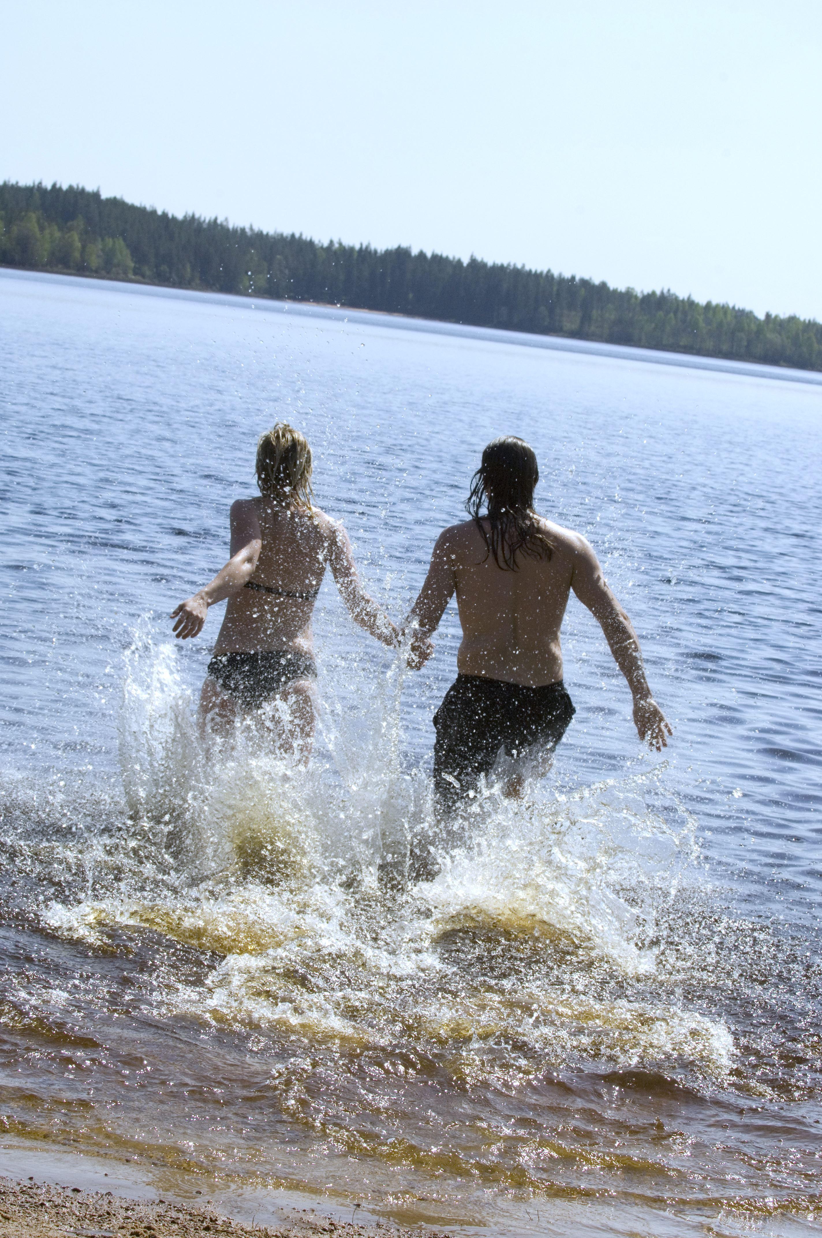 Badplats Helgö