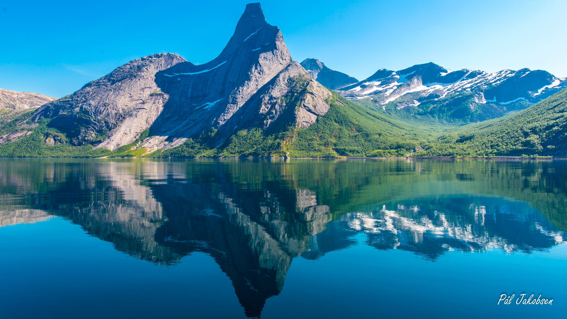 Stetind - Norway's national mountain