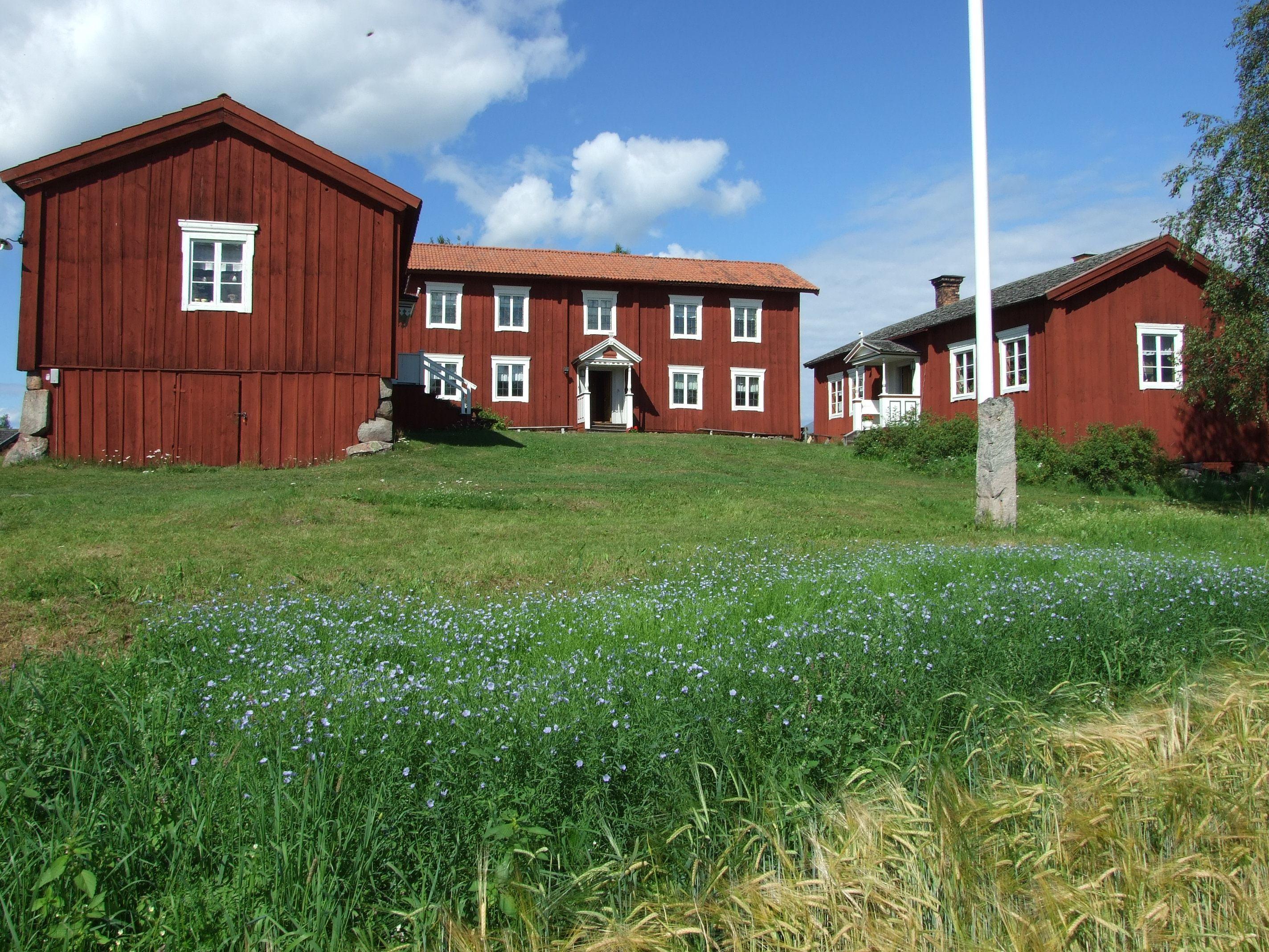 Jan Brinka,  © Alfta sockens hembygdsförening, Dagligt öppethållande på Hälsingegård Löka