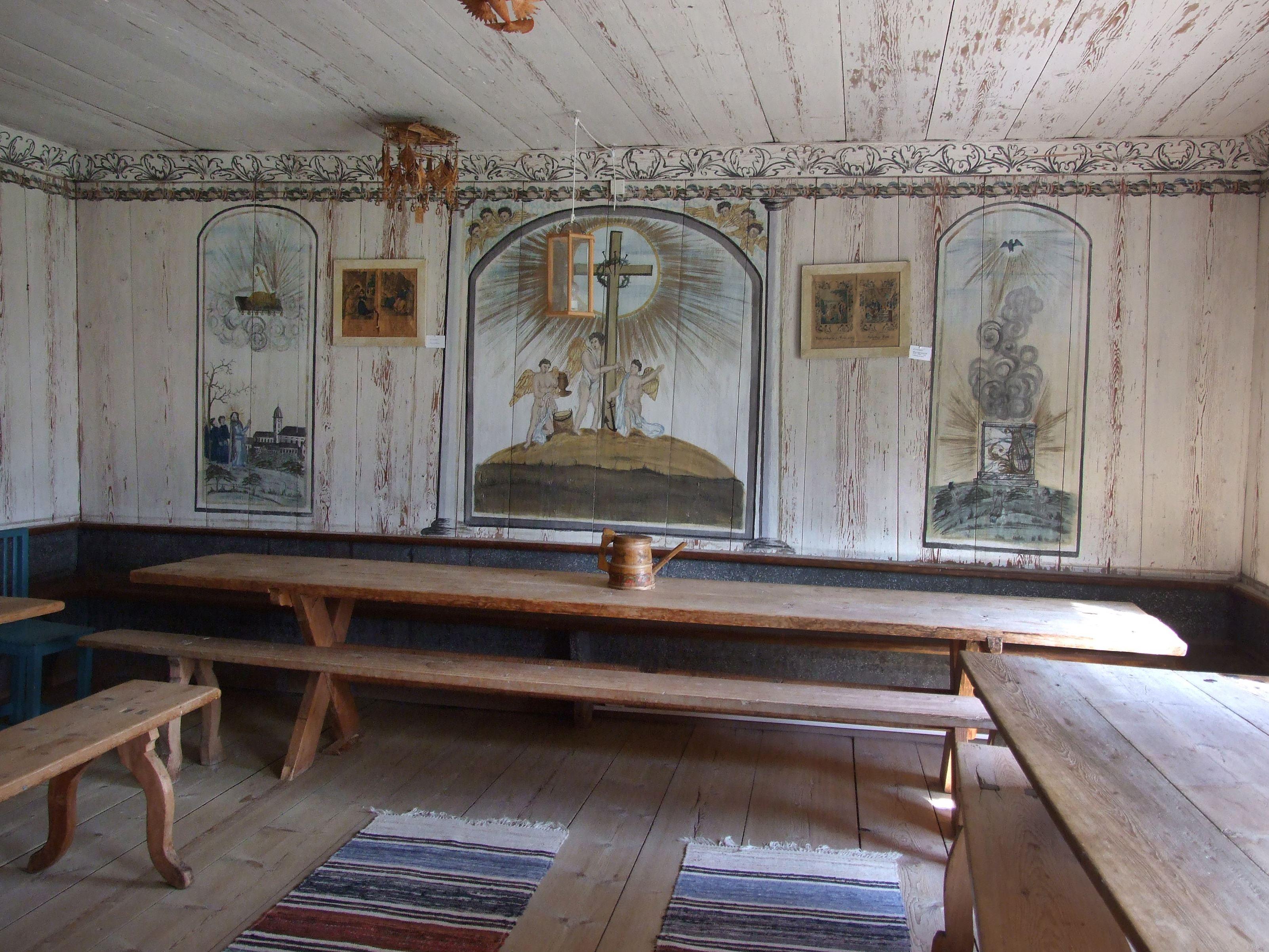 Jan Brinka,  © Alfta sockens hembygdsförening, Storstugan