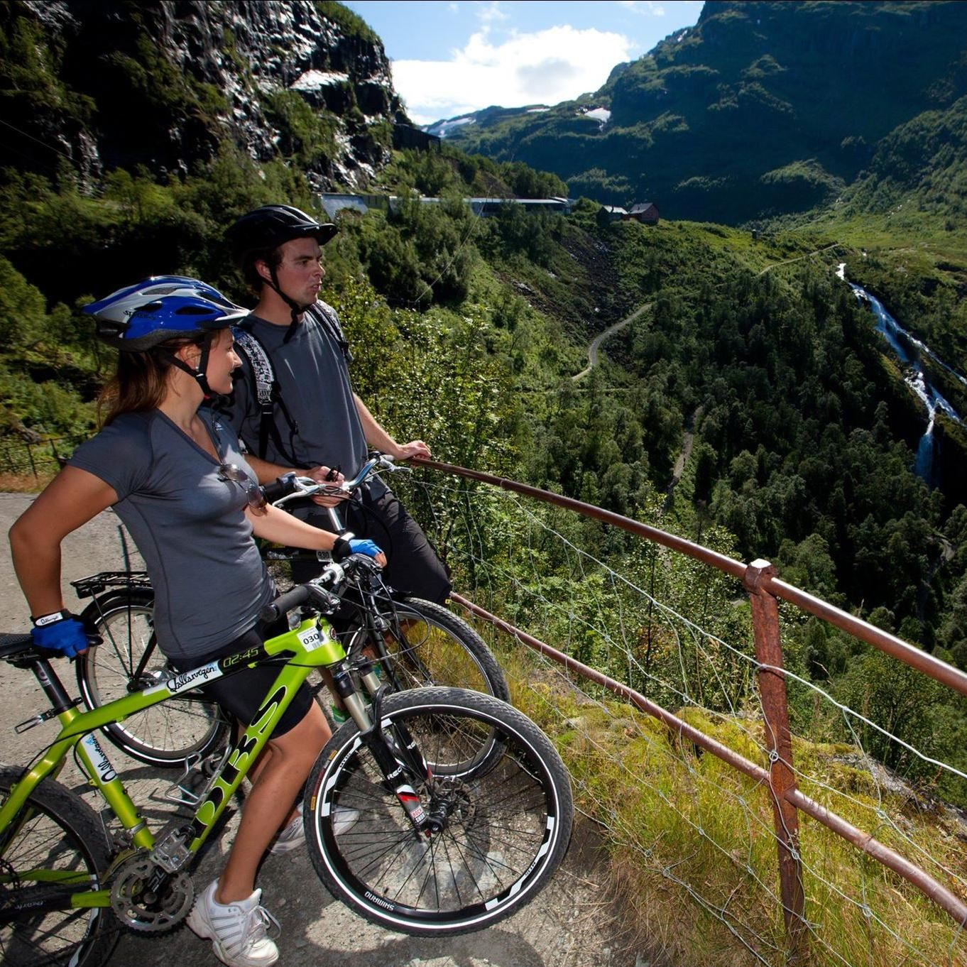 Flåm bike rental
