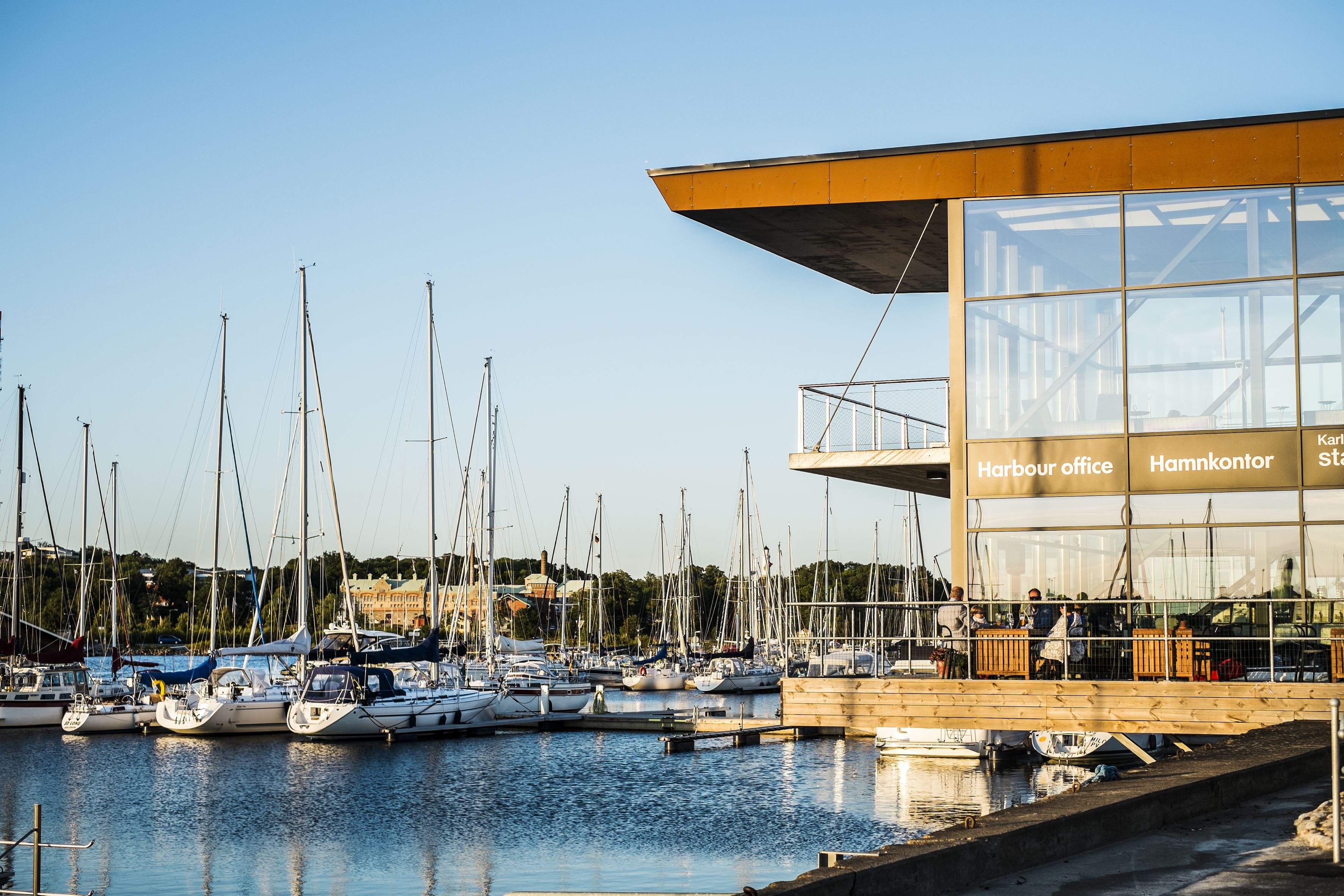 Guest harbour - Karlskrona City Marina
