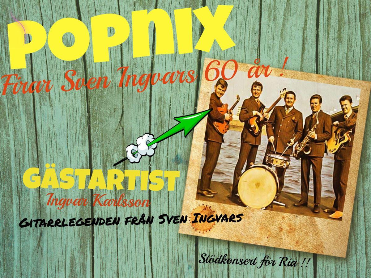POPNIX - Stödkonsert för RIAstugan