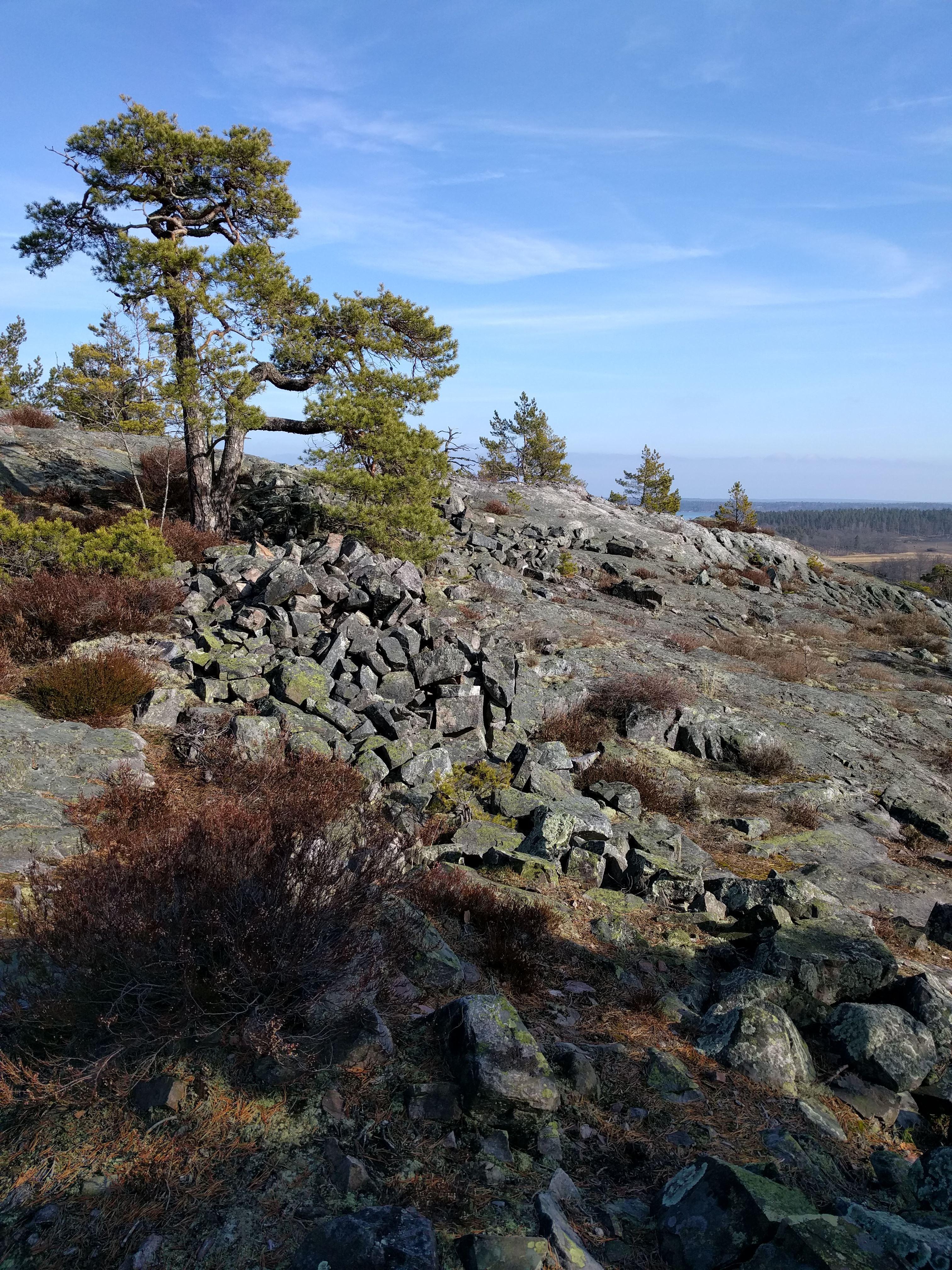 Segersgärde with Fruberget and Örnberget