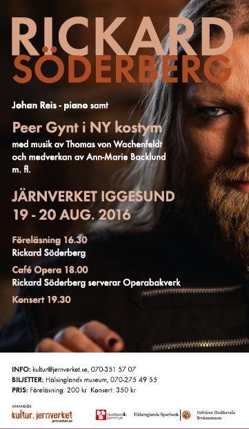 Rickard Söderberg serverar på Café Opera - Järnverket