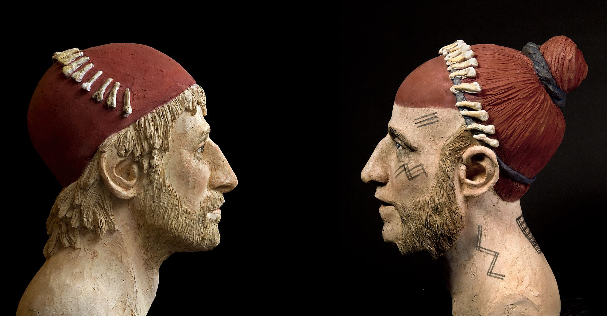 Öga mot öga - fornutställning med vikingar