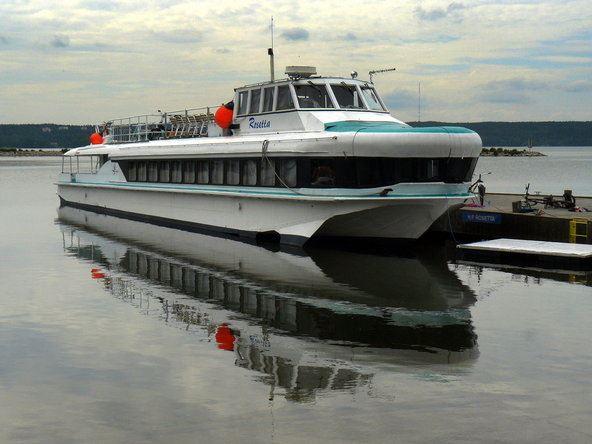 Lahti Harbour | M/S Rosetta
