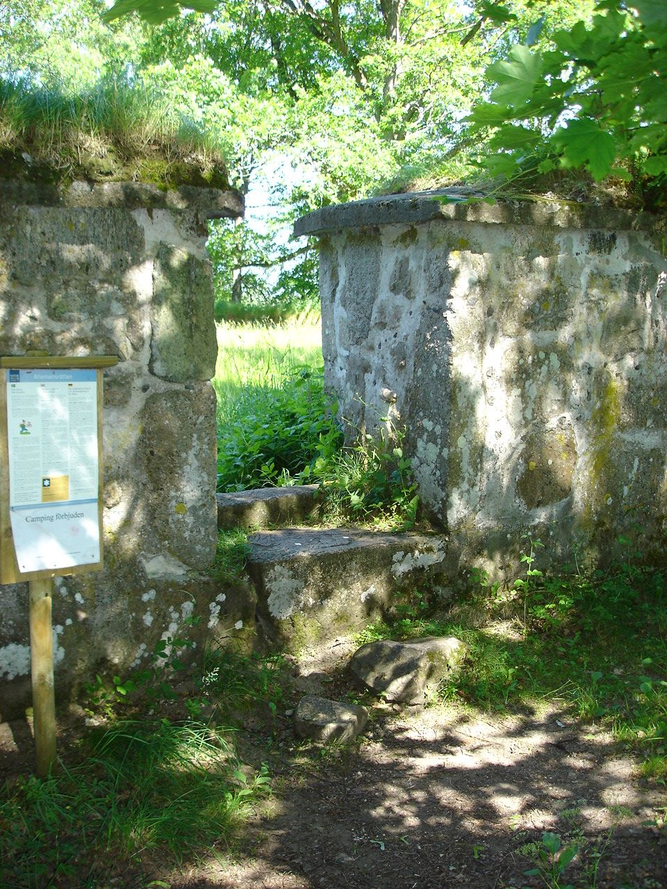 Guided tour at Skeingeborg ruins
