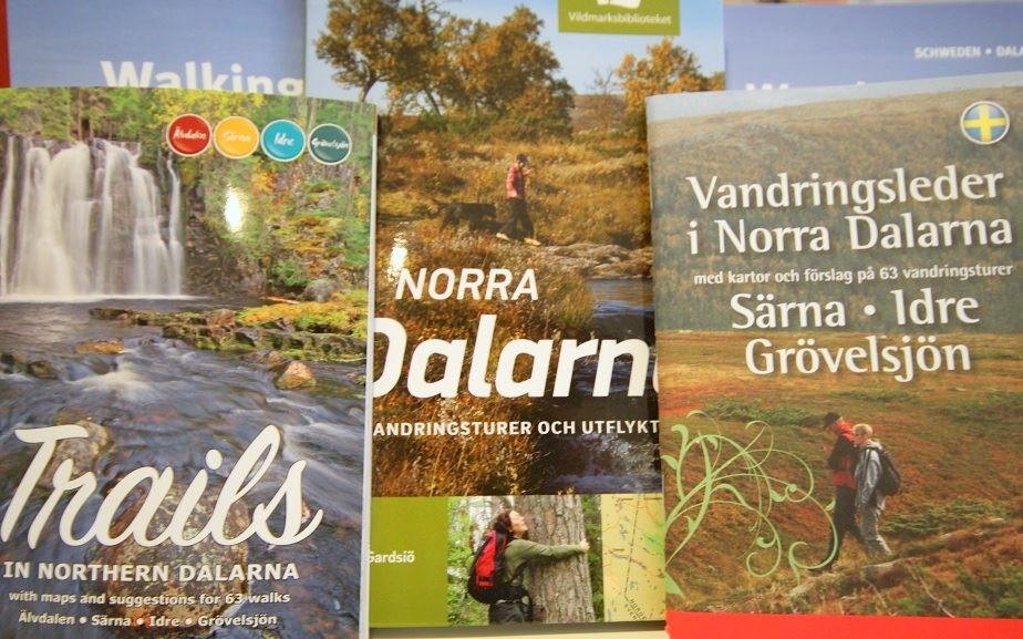 Hiking guides in northern Dalarna