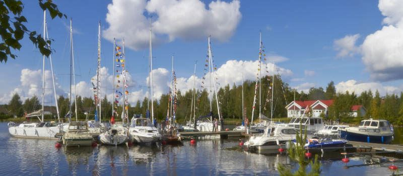 Sysmä village harbour