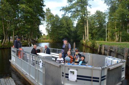 Canal tour Hillertorp-Flaten