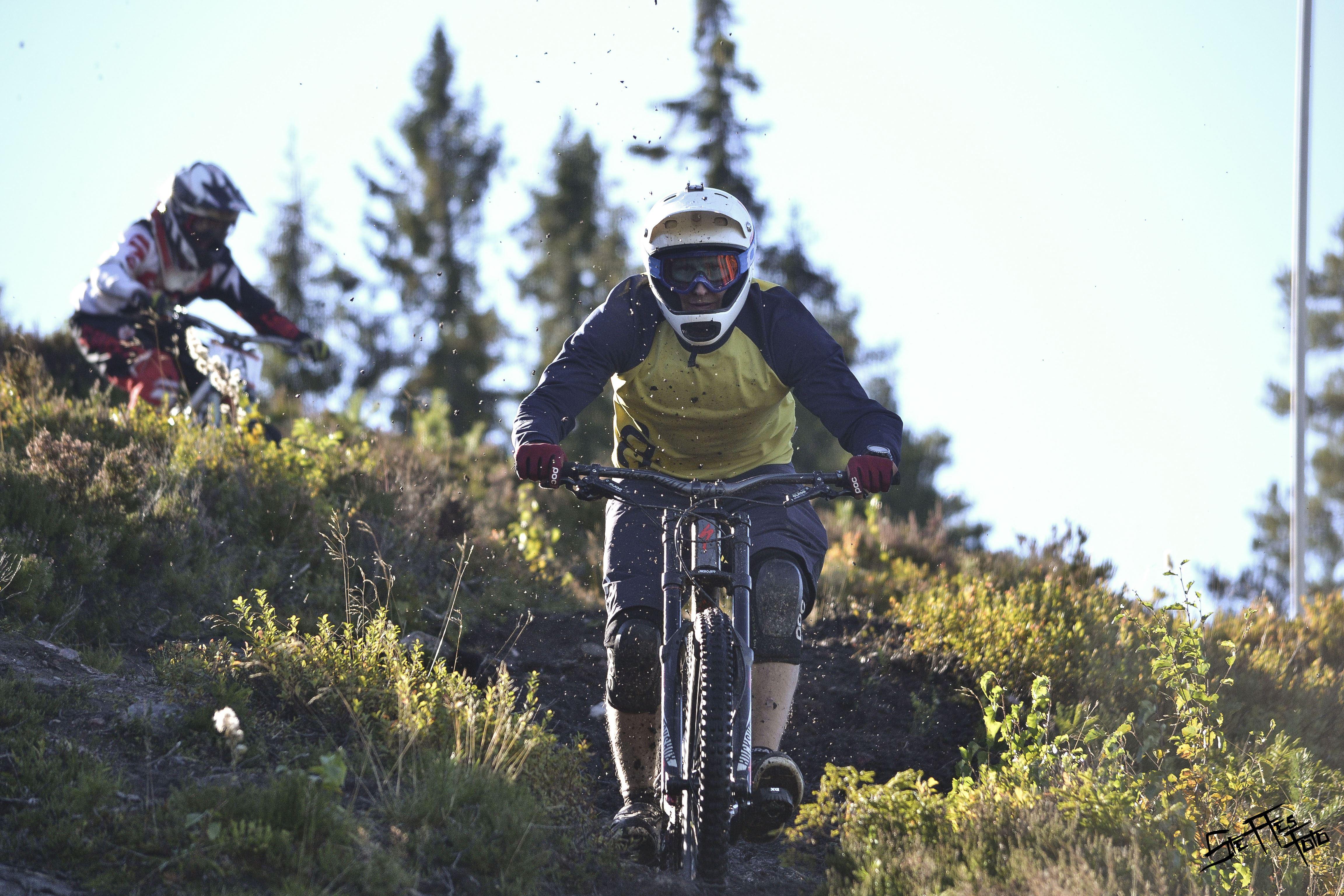 Scandinavian Downhill Cup - cykel
