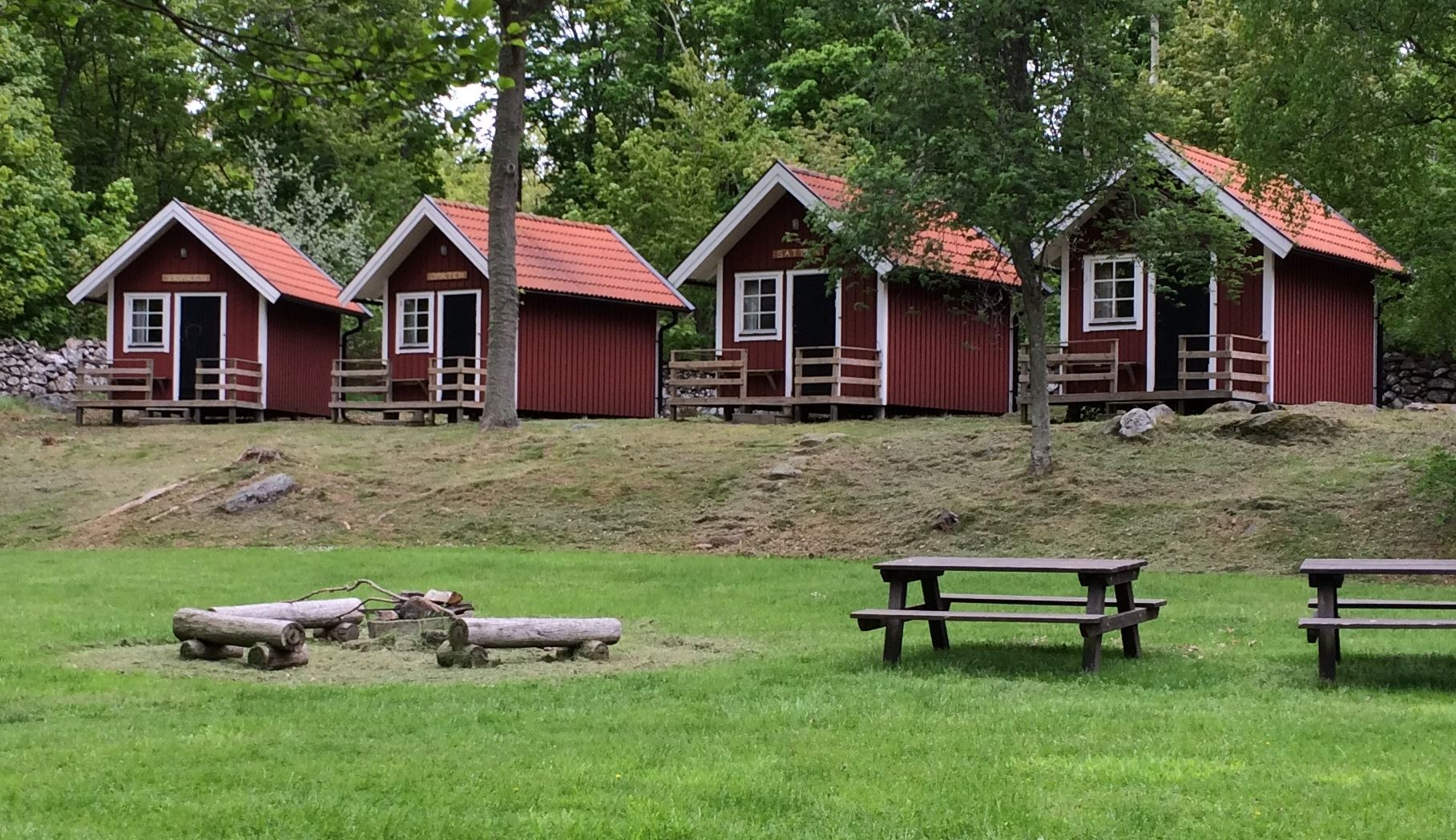 Stenbräckagården Hägnan's camping cottages