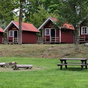Stenbräckagården Hägnans Campings stugor