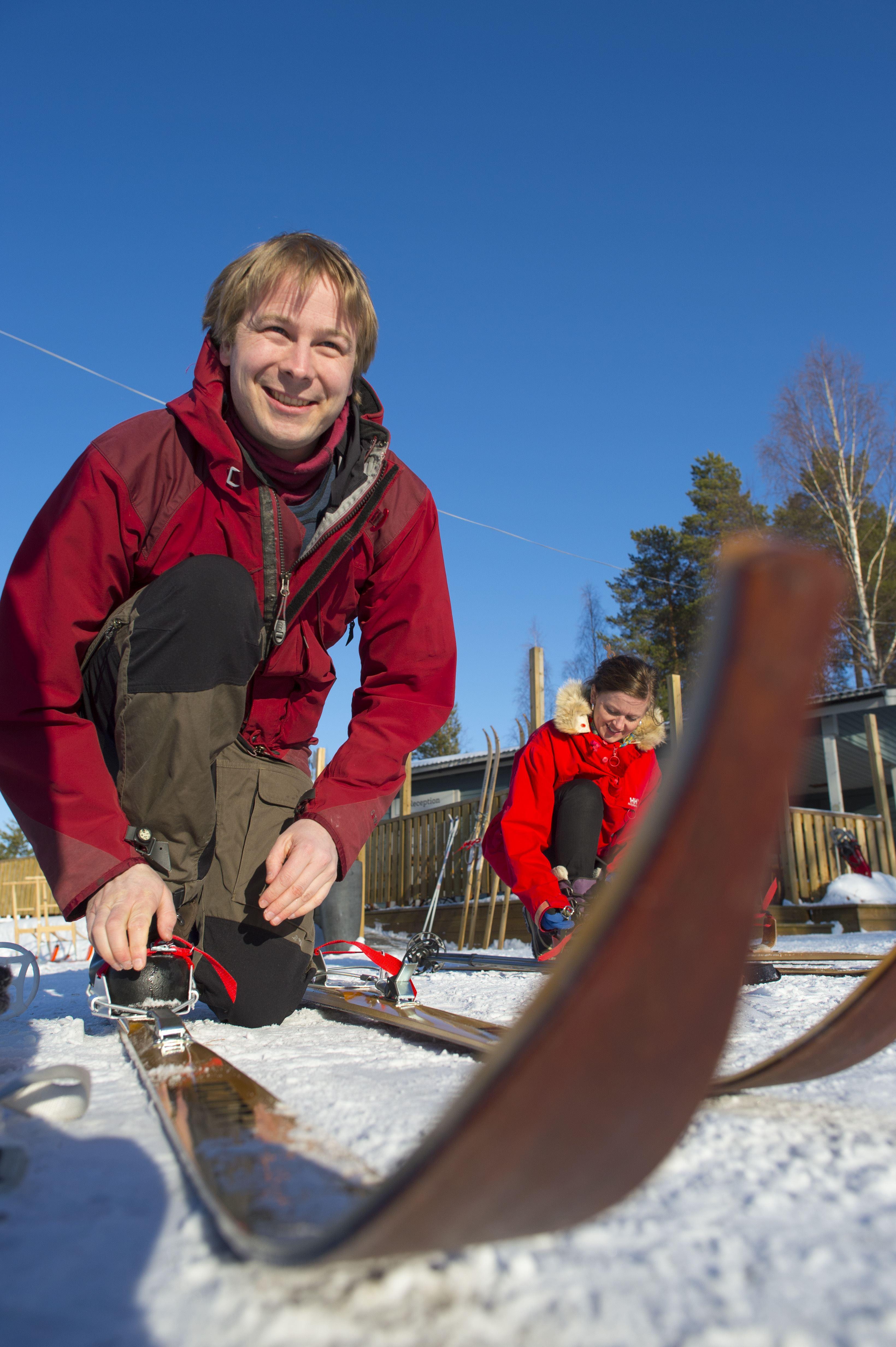 Ekoaktiviteter Vinter - Granö Beckasin