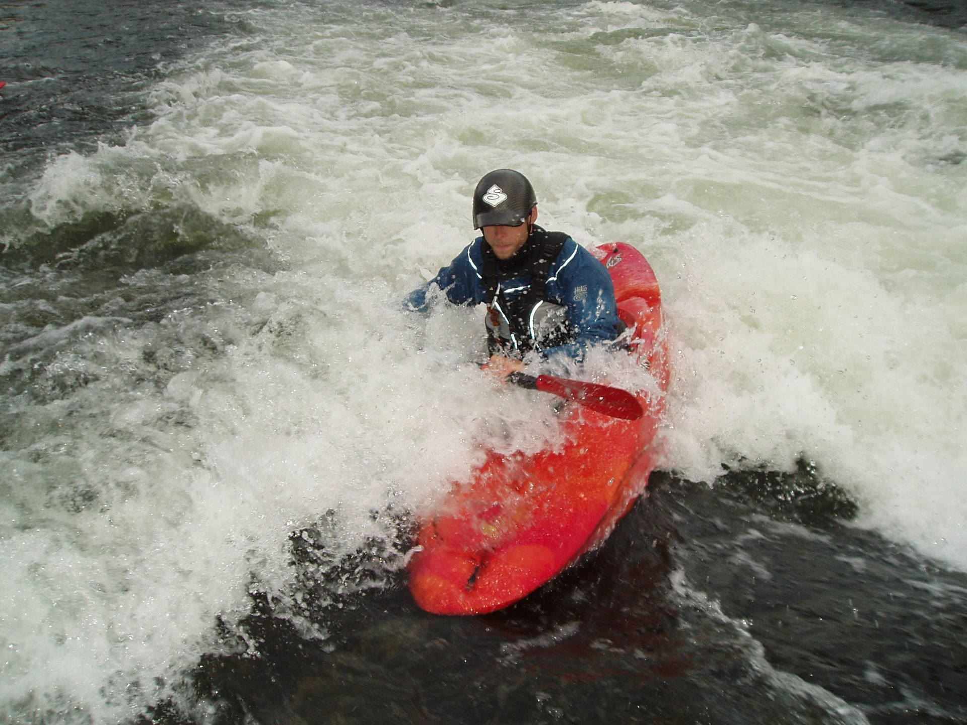 Try whitewater kayaking