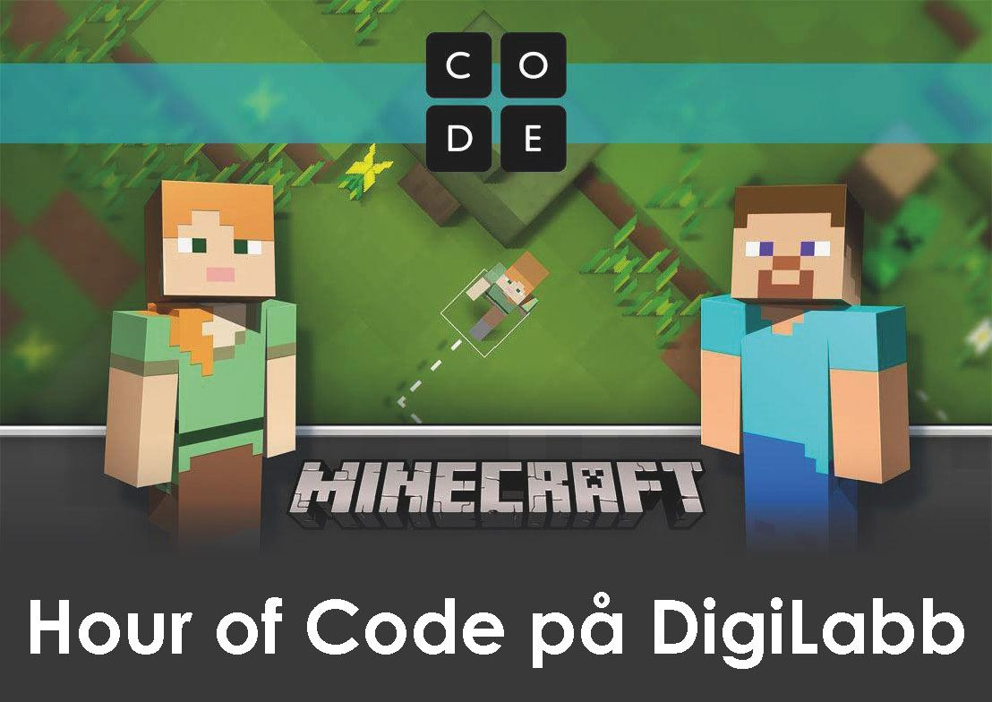 Hour of Code på DigiLabb