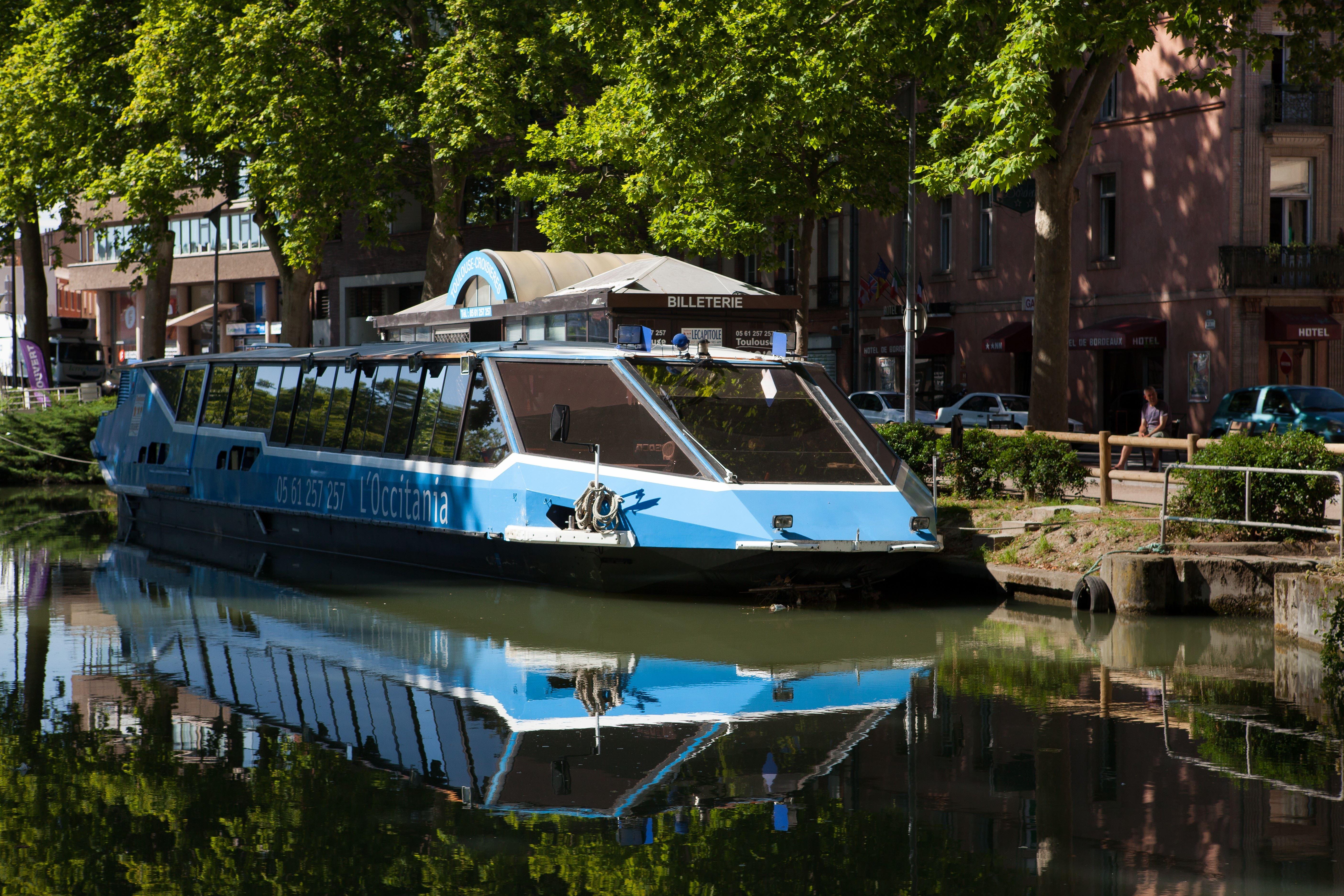 The Occitania restaurant boat cruise