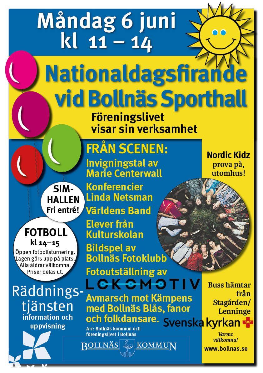Nationaldagsfirande i Bollnäs