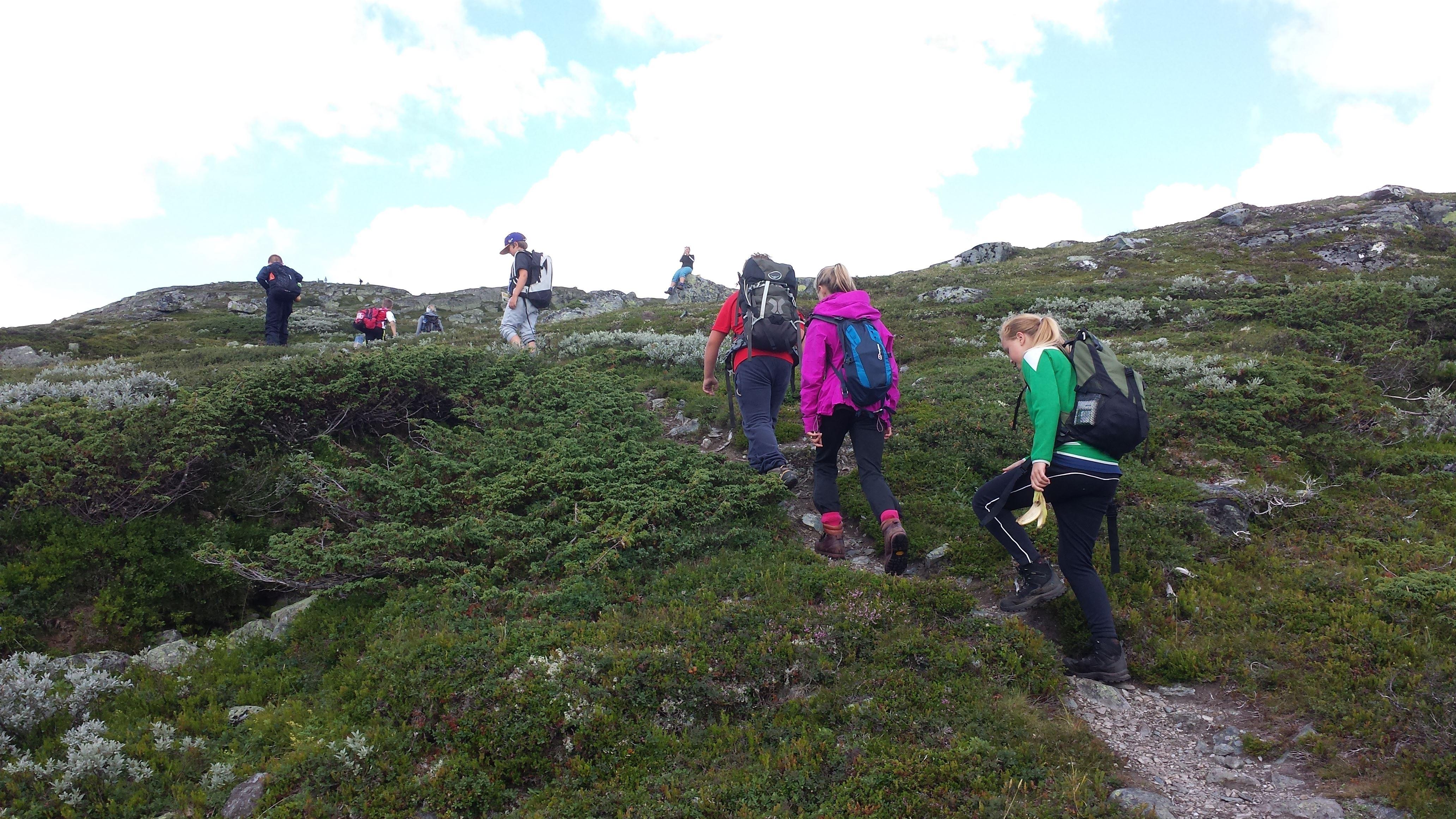 Sommerheisen ved Hovden Alpinsenter