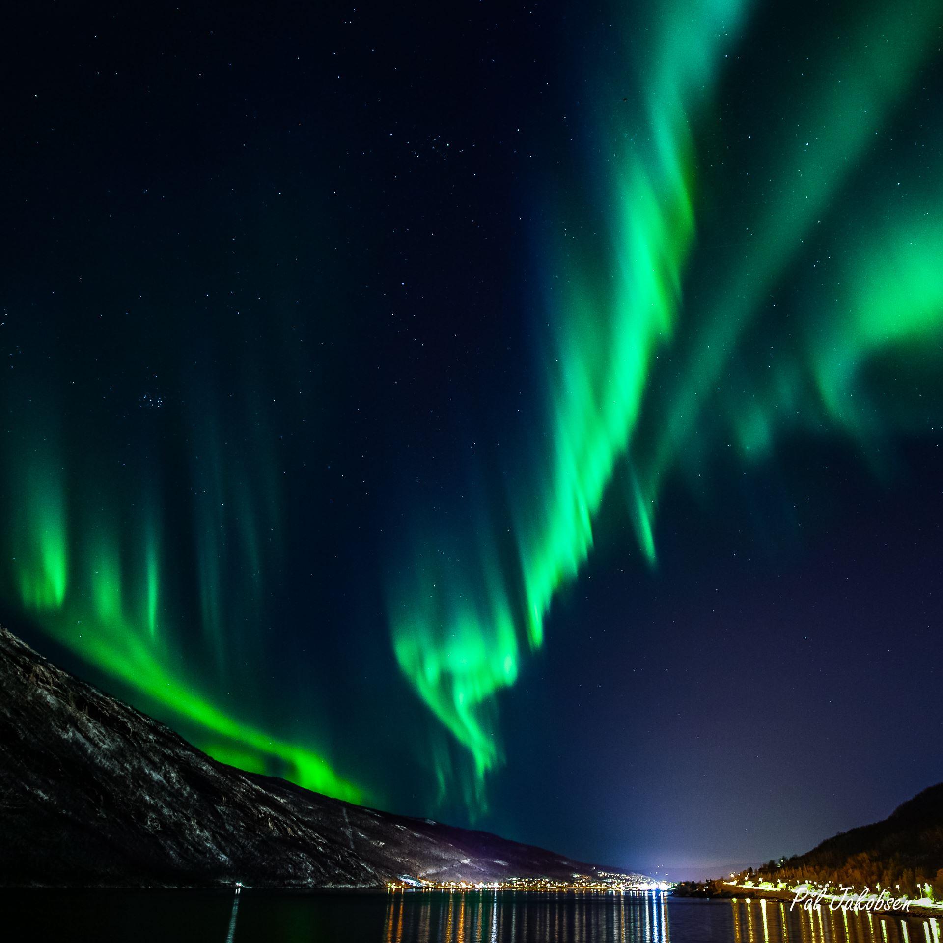 Pål Jakobsen, Nordlys i Narvikregionen