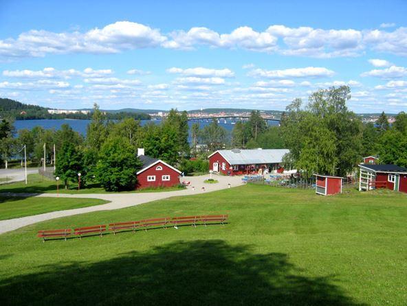 Foto: Sandvikens Camping & Stugby,  © Copy: Visit Östersund, Sandvikens Camping & Stugby