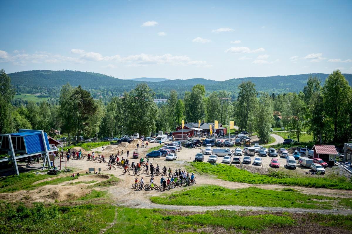 Frasse Fransson, Järvsö Bergscykel Park