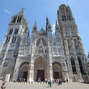 Guided audio tour - route : City of Rouen or Joan of Arc