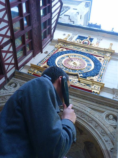 Audio-guided visit : star attractions in Rouen